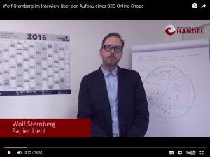 Bild von Video zu Wolf Sternberg im Interview über den Aufbau eines B2B-Online-Shops