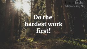 desktop_wallpaper_wood_forrest_hardest_work_first_logo_b2b-marketing_blog_firmenfischen.com