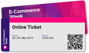 E-Commerce-Week – 40 Vorträge in 1 Woche