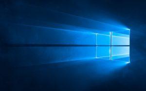 Das Windows 10 Hintergrundbild Hero