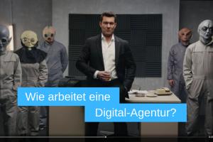 Bild aus dem digitalem Werbespot von Suchdialog als Beispiel für digital-Werbung