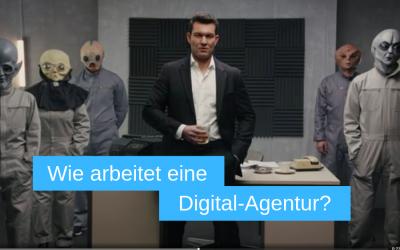 Digitale Werbung einer Agentur ist B2B-Marketing