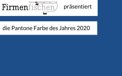Favicon von Firmenfischen neu in Pantone Farbe des Jahres 2020