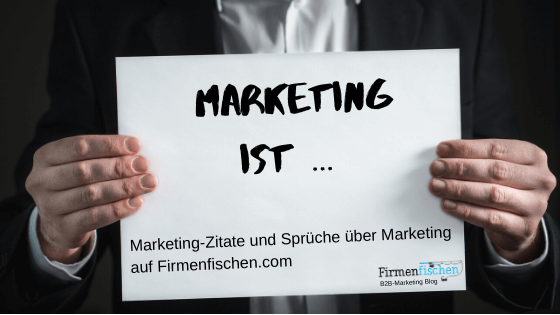 Marketing-Zitate