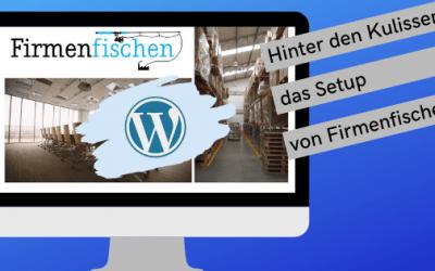 WordPress-Blog Firmenfischen hat jetzt mehr Besucher, Abonnenten und Reaktionen – und das kam so