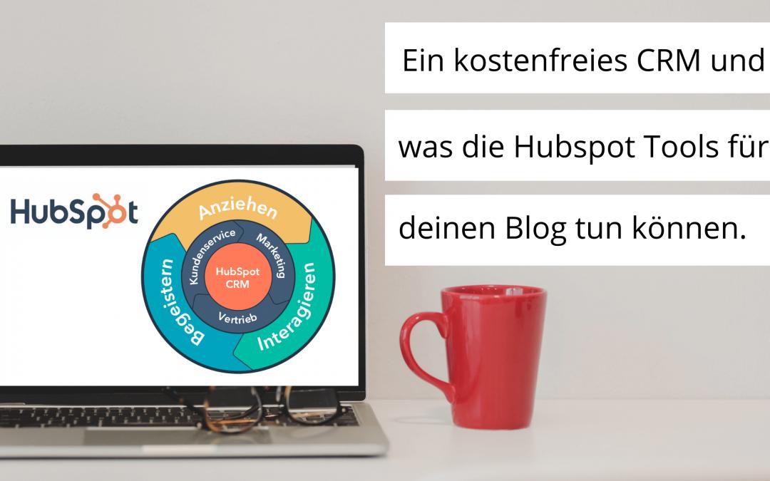 Das Hubspot CRM gibt es gratis und wie das deinem Blog helfen kann